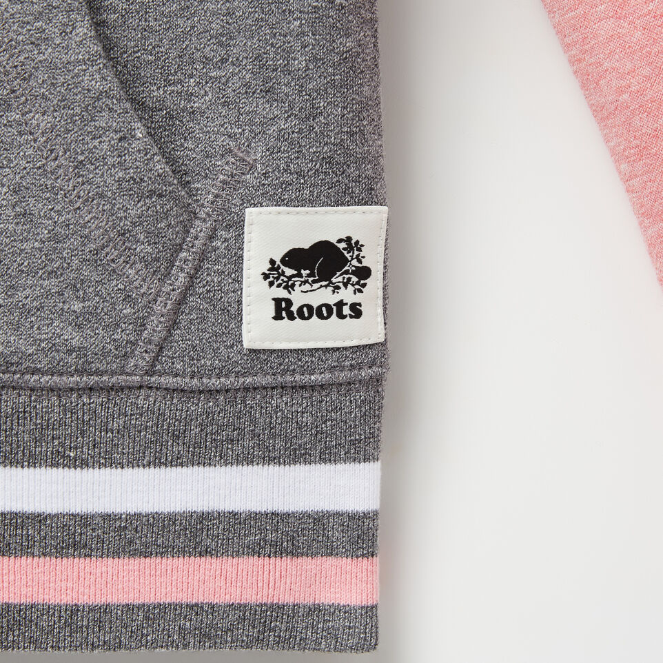 Roots-undefined-Girls Cooper Canada Full Zip Hoody-undefined-D