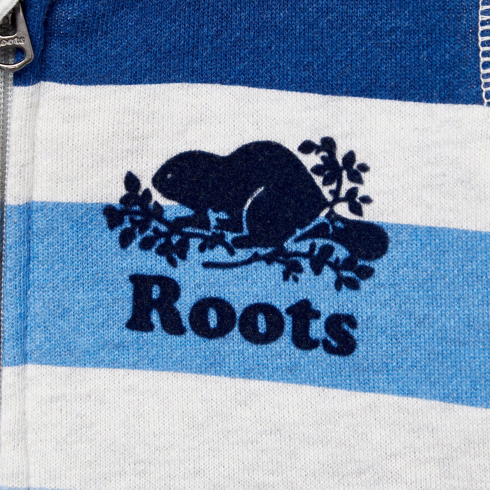 Roots-Kids Our Favourite New Arrivals-Baby Ombre Stripe Full Zip Hoody-White Mix-C