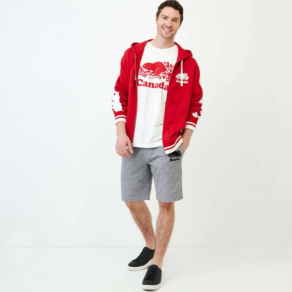 Roots-Men Our Favourite New Arrivals-Canada Zip Hoody-Sage Red-B