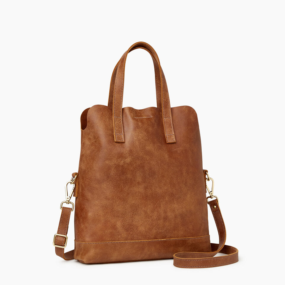 Roots-Leather  Handcrafted By Us Our Favourite New Arrivals-Junction Foldover-Natural-A