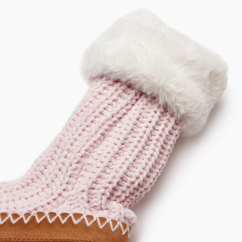 Roots-Women Categories-Chenille Slipper Sock-Fragrant Lilac-C