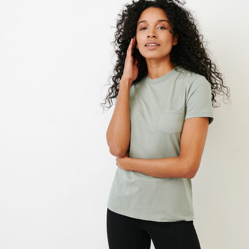 Roots-Women Categories-Essential T-shirt-Lily Pad-A