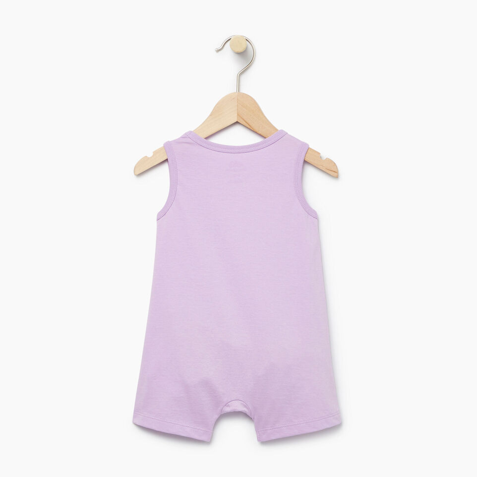 Roots-Kids Our Favourite New Arrivals-Baby Cooper Beaver Romper-Lavendula-B