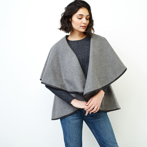 Roots-Women Our Favourite New Arrivals-Julia Cape-Medium Grey-A