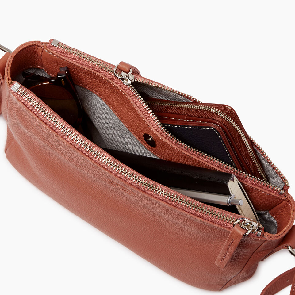 Roots-Leather Categories-Main Street Crossbody-Canyon Rose-D