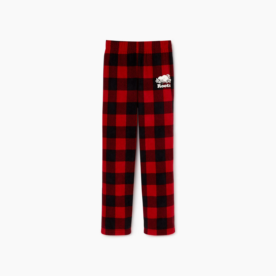 Roots-Kids Boys-Boys Inglenook Pj Pant-Cabin Red-A