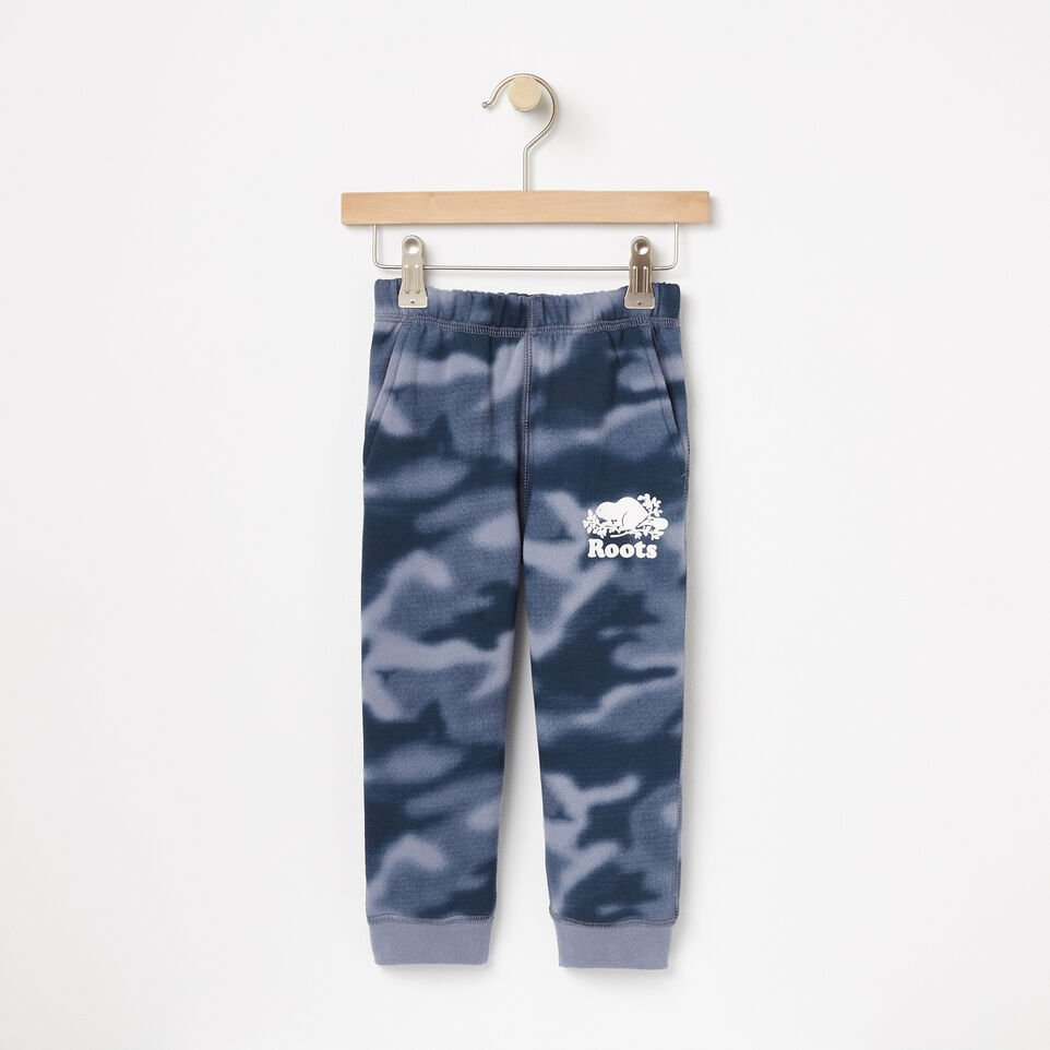 Roots-undefined-Toddler Blurred Camo Slim Sweatpant-undefined-A