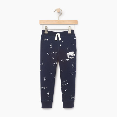 Roots-Kids Our Favourite New Arrivals-Toddler Splatter Sweatpant-Navy Blazer-A