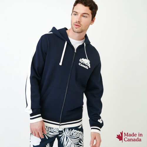 Roots-Men Our Favourite New Arrivals-Canada Zip Hoody-Navy Blazer-A