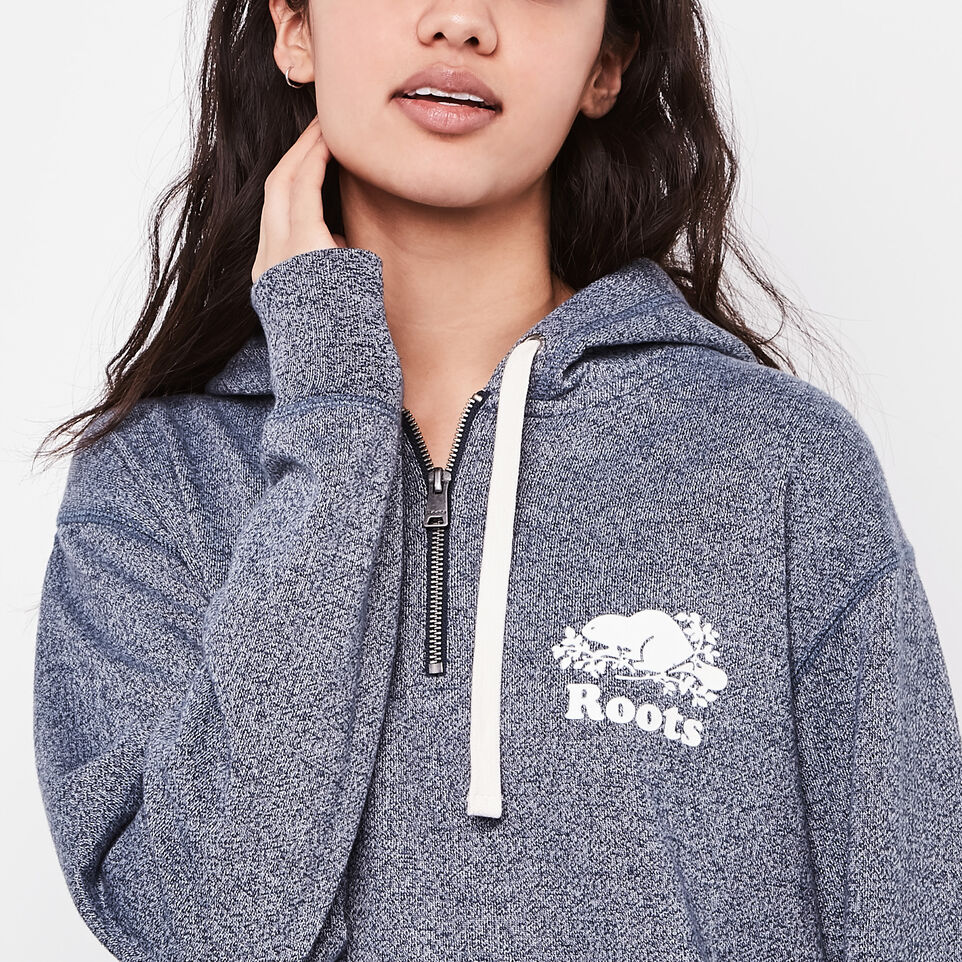 Roots-undefined-Olivia 1/4 Zip Hoody-undefined-C