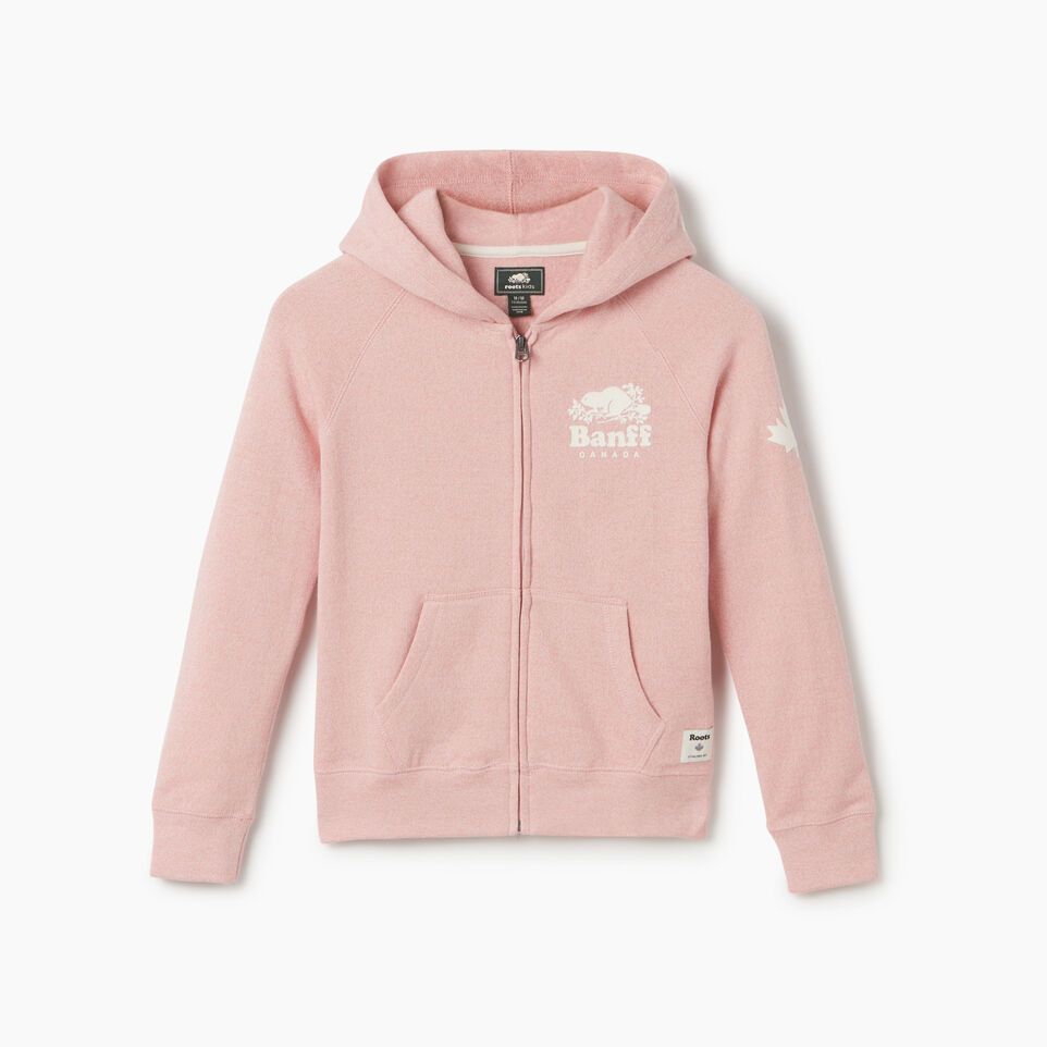 Roots-undefined-Girls Banff Ski City Full Zip Hoody-undefined-A