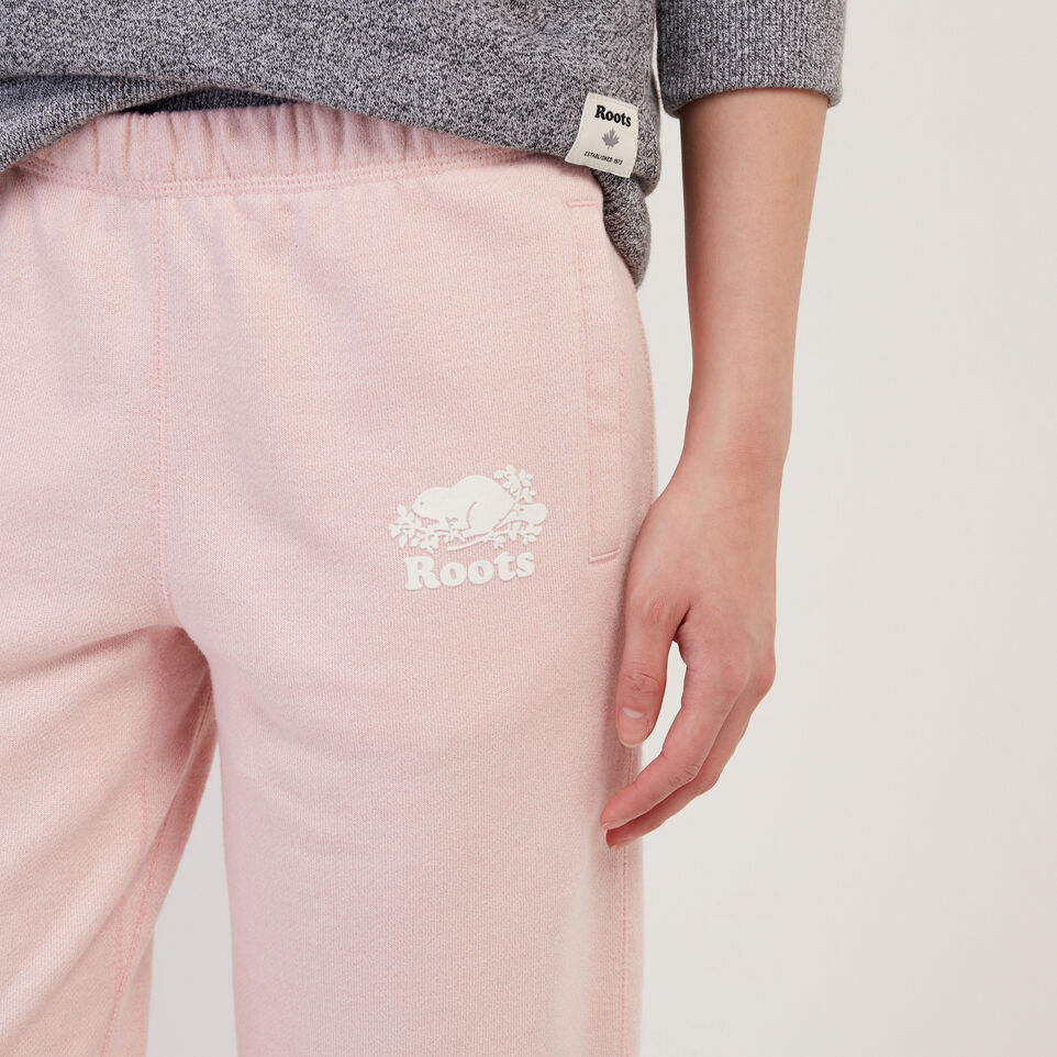 Roots-Sweats Sweatpants-Easy Ankle Sweatpant-Silver Pink Pepper-E