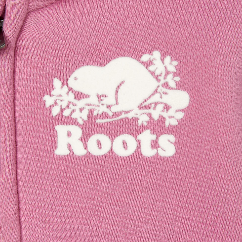 Roots-New For December Kids-Baby Sherpa Lined Full Zip Hoody-Mauve Orchid-C