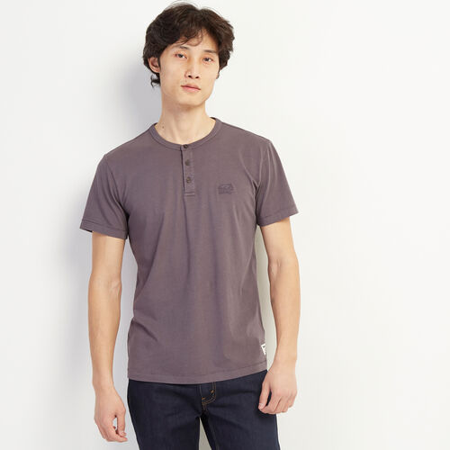 Roots-Men Clothing-Essential Henley-Shale-A