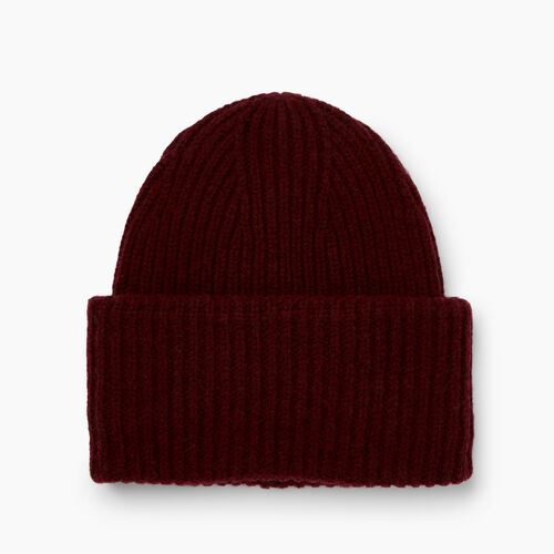 Roots-Clearance Accessories-Granville Toque-Crimson-A