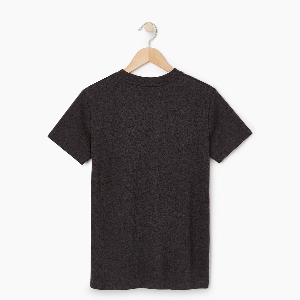 Roots-New For May Women-Womens Cooper Beaver T-shirt-Black Pepper-B