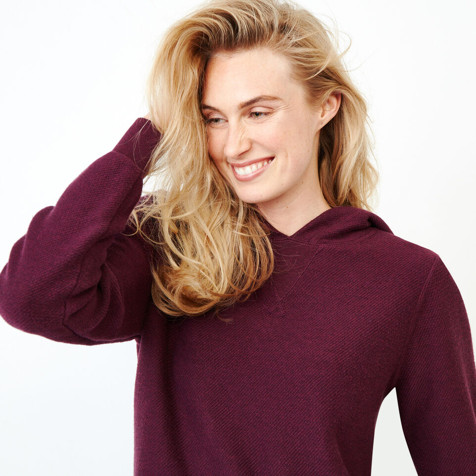 Roots-Women Categories-Maple Sweater Hoody-Pickled Beet Mix-E
