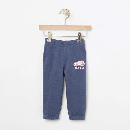 Roots-Winter Sale Kids-Baby Slim Roots Sweatpant-Force Blue-A