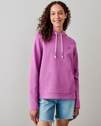 Roots-Sweats Sweatshirts & Hoodies-Camp Pullover Hoody-Radiant Orchid-A