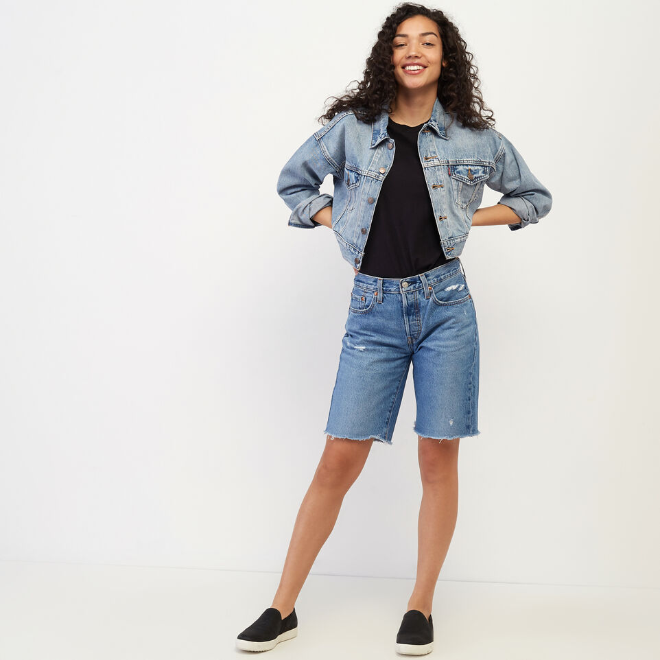 Roots-undefined-Levi's 501 Knee Length Short-undefined-B