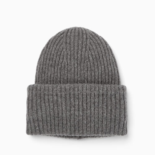 Roots-Clearance Accessories-Granville Toque-Medium Grey Mix-A