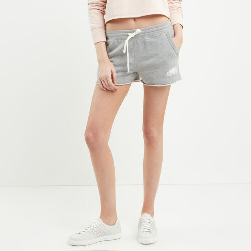 Roots-Women Shorts & Skirts-Busted Cooper Sweatshort-Grey Mix-A