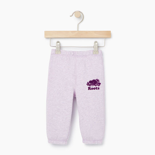 Roots-Clearance Kids-Baby Original Roots Sweatpant-Lupine Mix-A