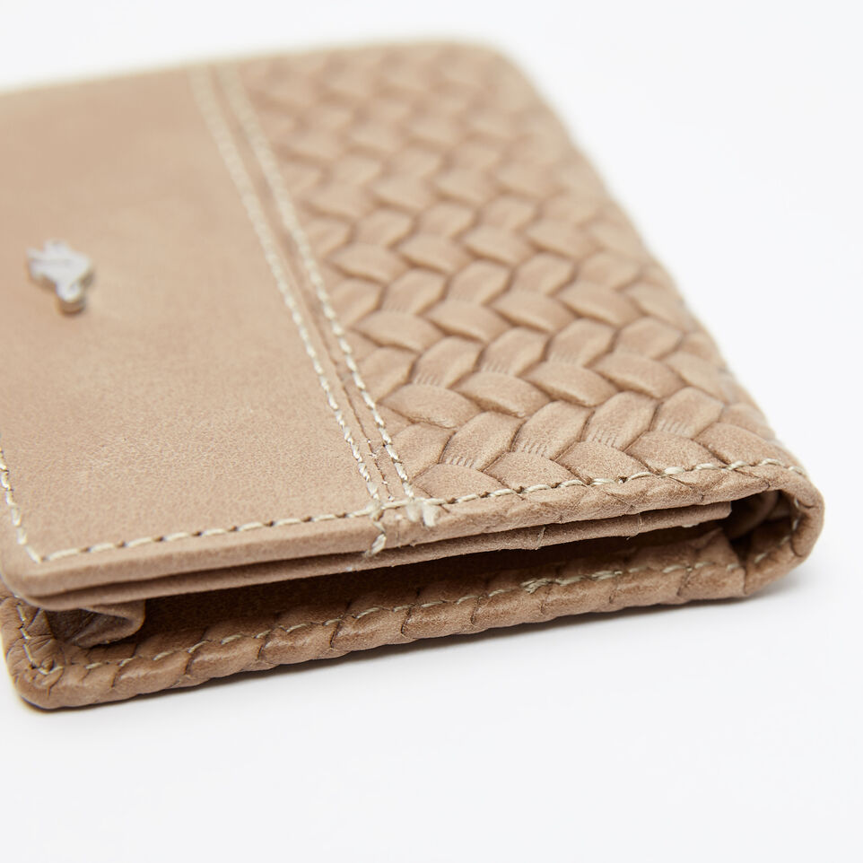 Roots-undefined-Small Fold Over Wallet Woven-undefined-D