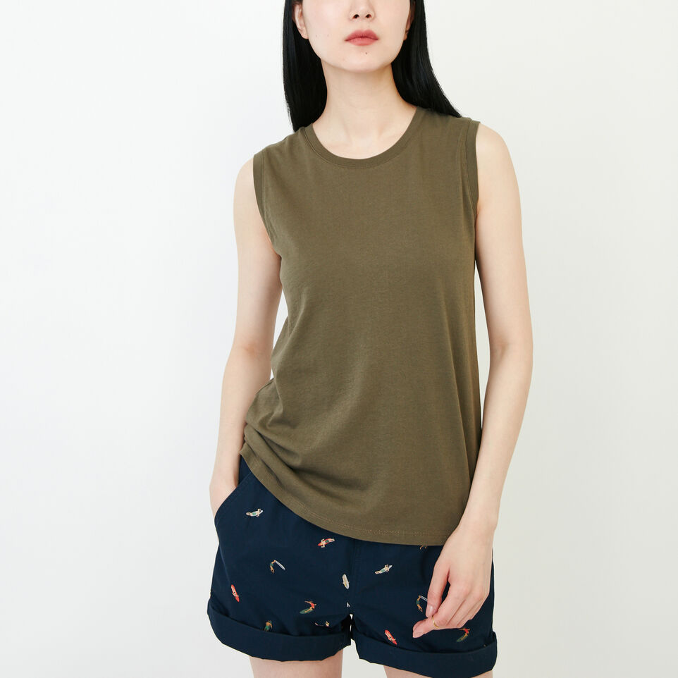 Roots-Women Our Favourite New Arrivals-Essential Tank-Fatigue-A