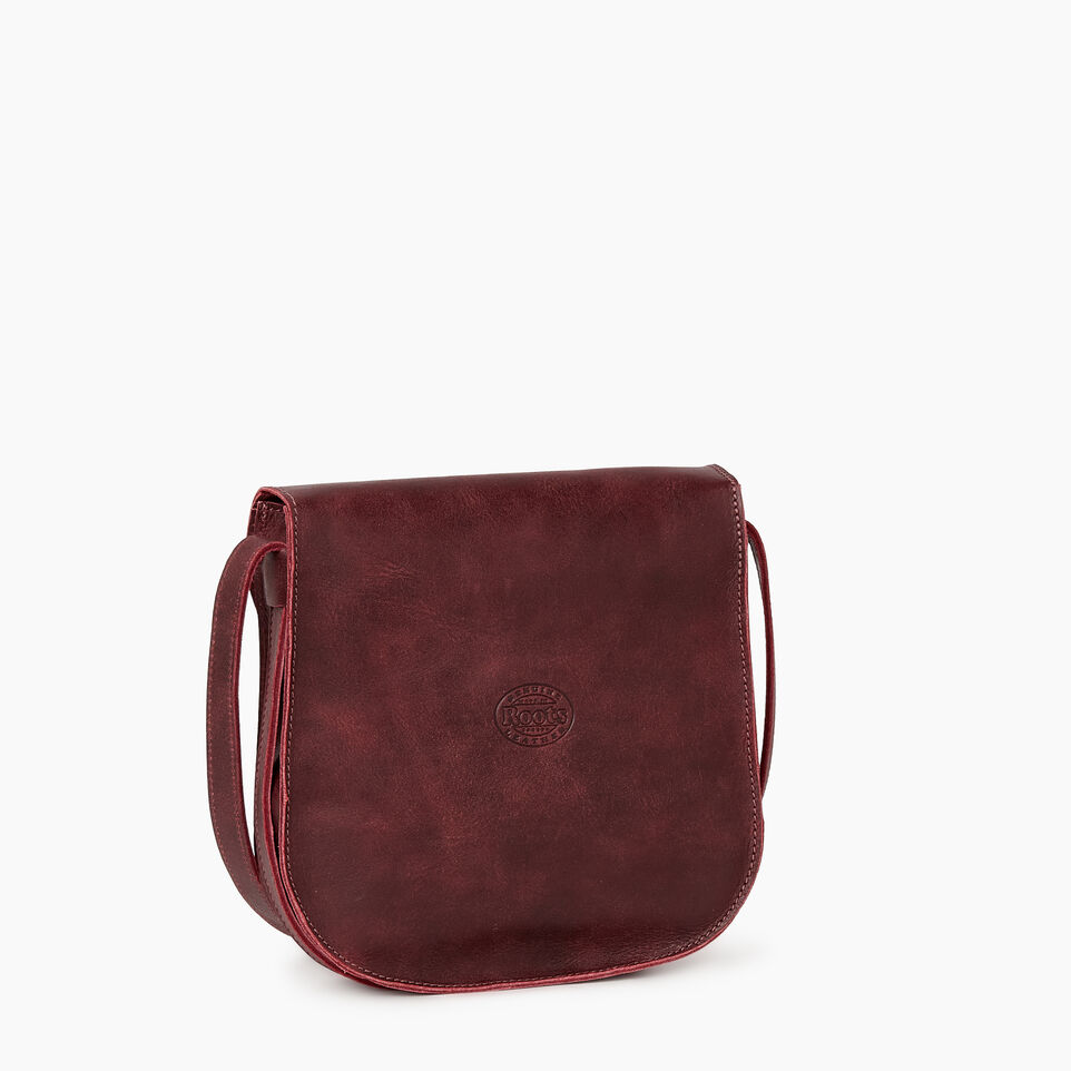 Roots-Leather  Handcrafted By Us Our Favourite New Arrivals-Lambert Bag-Crimson-C