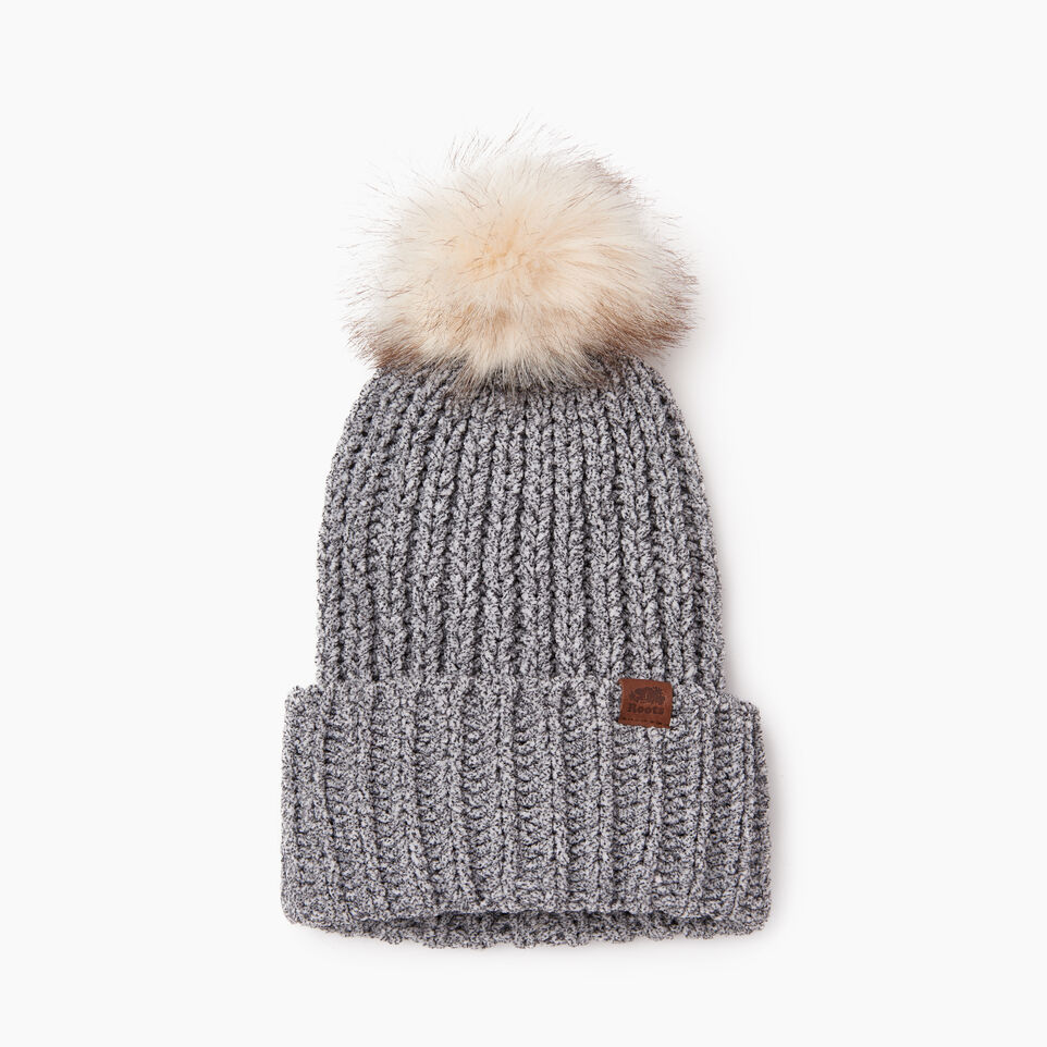 Chenille Pom Pom Toque Chenille Pom Pom Toque by Roots