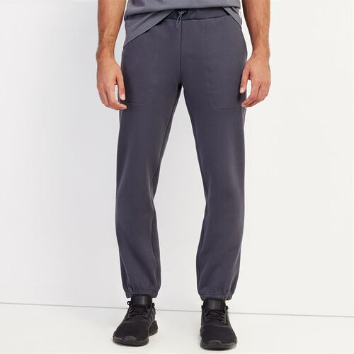 Roots-Men Bottoms-Utility Cargo Sweatpant-Ink-A