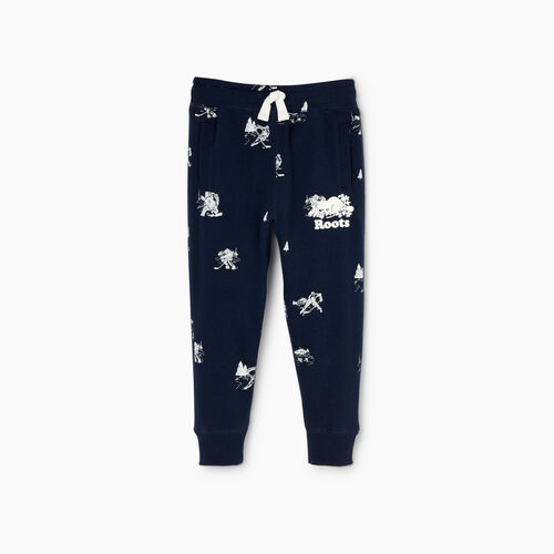 Roots-Kids Our Favourite New Arrivals-Toddler Hockey Aop Sweatpant-Navy Blazer-A