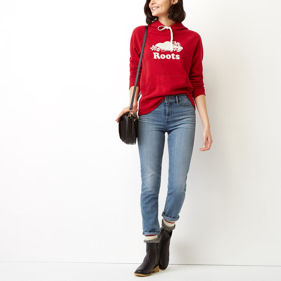 Roots-undefined-Sherpa Applique Hoody-undefined-B