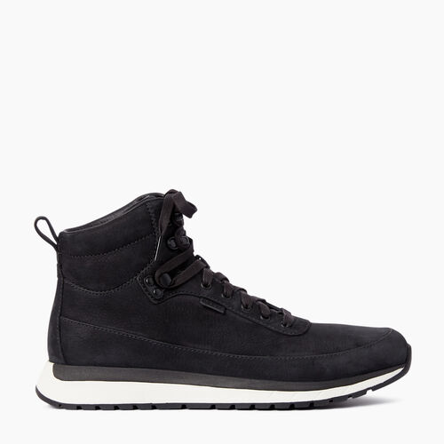 Roots-Footwear Men's Footwear-Mens Rideau Mid Sneaker-Black-A