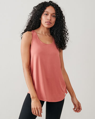 Roots-New For This Month Journey Collection-Journey Tank-Canyon Rose-A