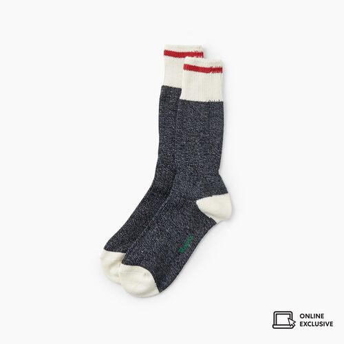 Roots-Gifts Cabin Comfort-Mens Roots Cabin Sock 3 Pack-Black Mix-A