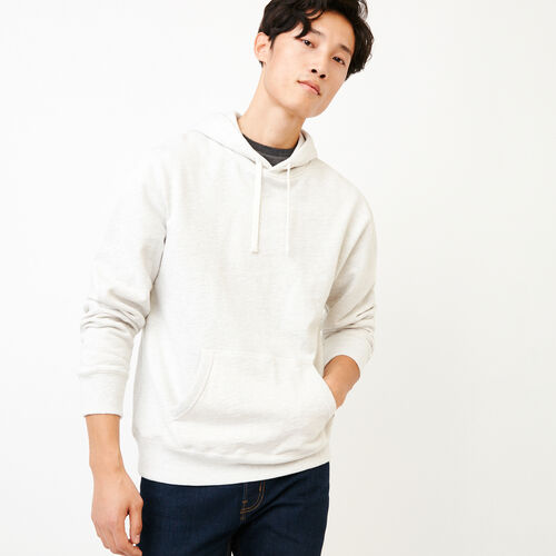 Roots-Men Categories-40s Hoody-White Grey Mix-A