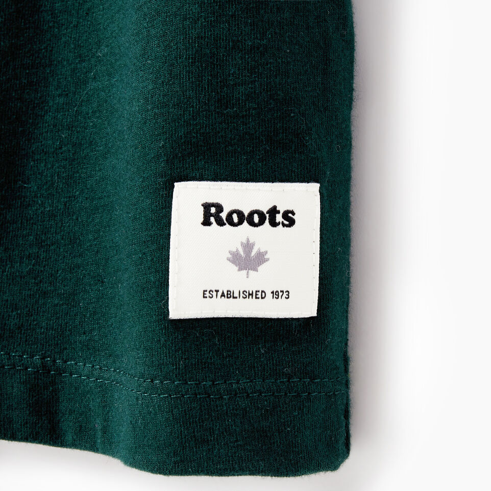 Roots-New For January Women-Womens Cooper Beaver T-shirt-Varsity Green-C