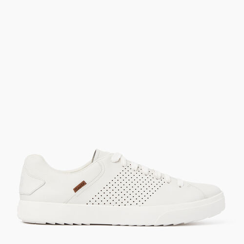 Roots-Women Footwear-Womens Bellwoods Low Sneaker-White-A