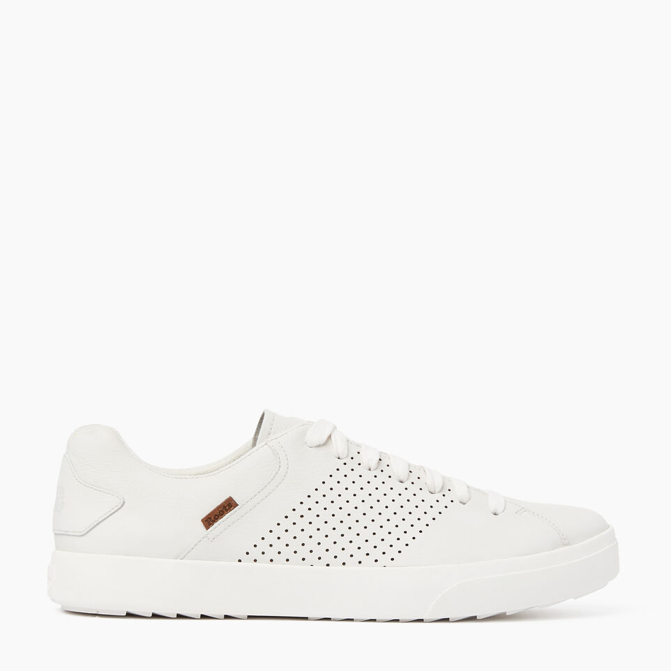 Roots-Clearance Women-Womens Bellwoods Low Sneaker-White-A