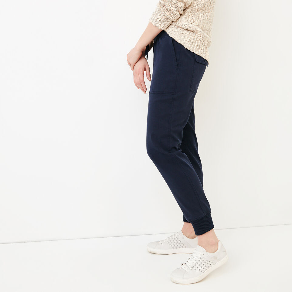 Roots-Women Categories-Essential Jogger-Navy Blazer-C