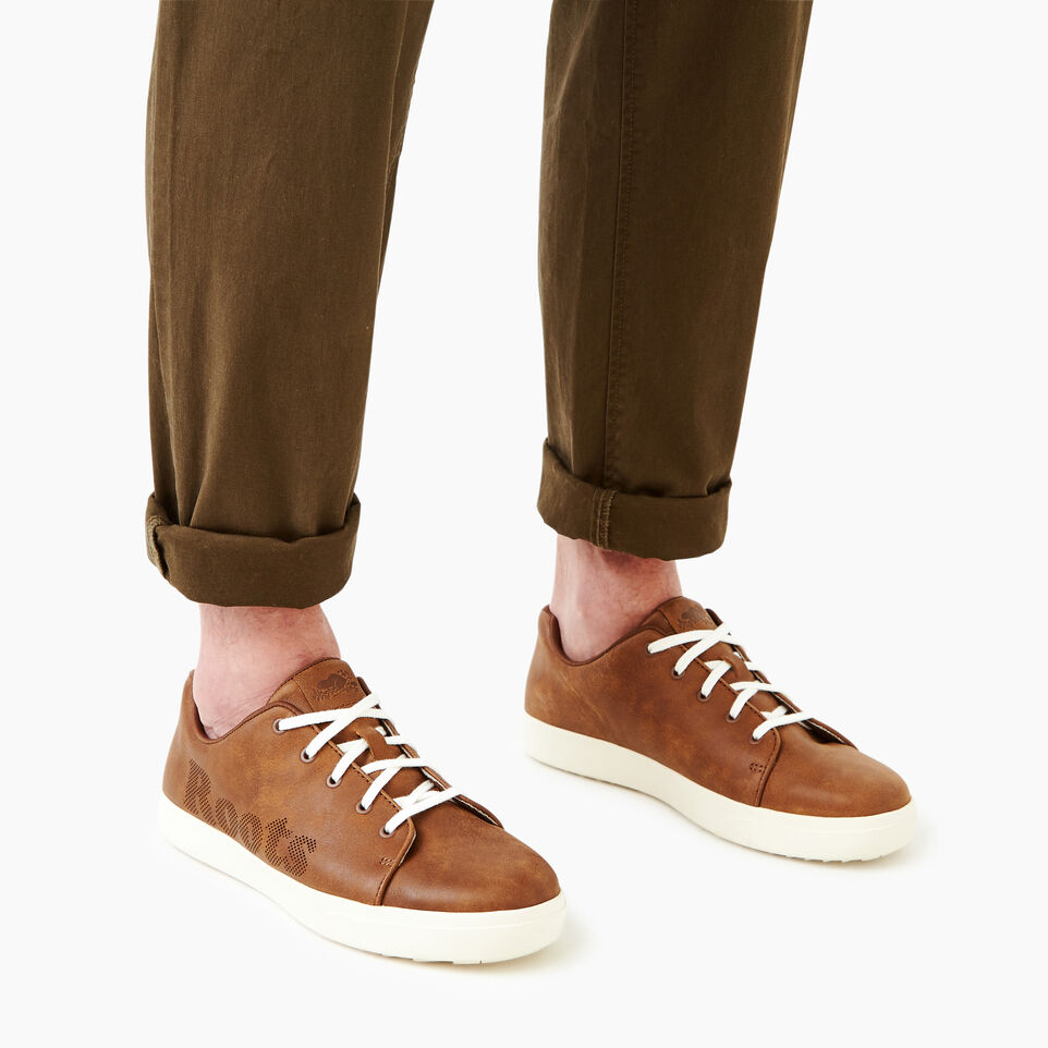 Roots-Footwear Our Favourite New Arrivals-Mens Rosedale Lace Sneaker-Natural-B