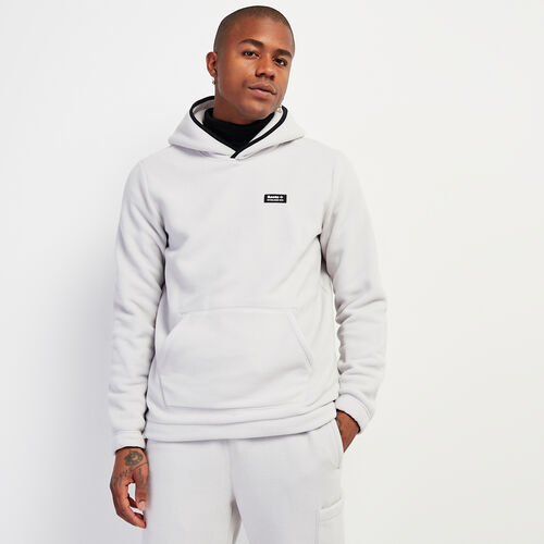 Roots-Men New Arrivals-Polartec® x Roots Journey Kanga Hoody-Vapour Grey-A