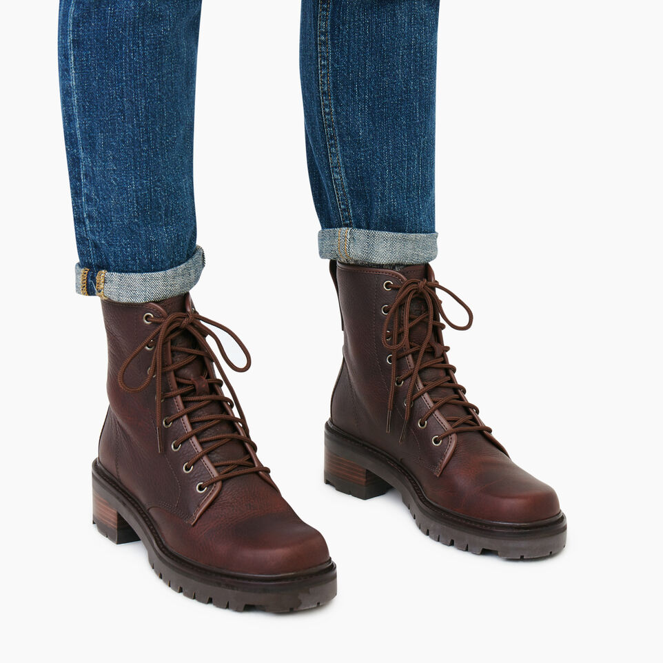 Roots-Women Clothing-Womens Port Dalhousie Boot-Cocoa-B