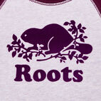 Roots-Sale Kids-Baby Original Crewneck Sweatshirt-Lupine Mix-D