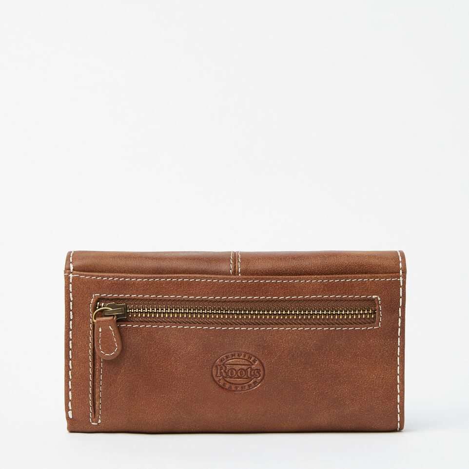 Roots-undefined-Medium Trifold Clutch Tribe-undefined-C