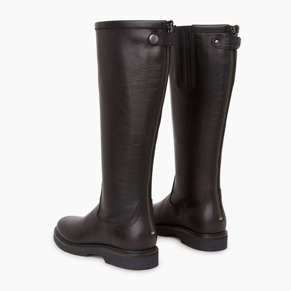 Roots-Women Categories-Womens Riverside Boot-Black-E
