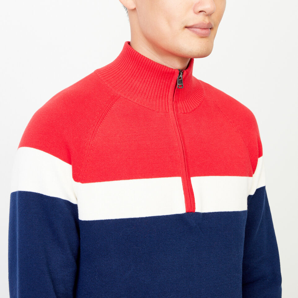 Roots-undefined-Pemberton 1/4 Zip Sweater-undefined-E