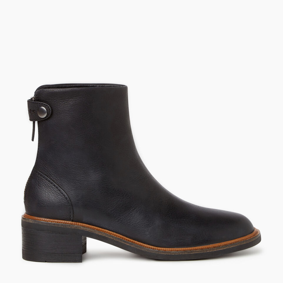 Roots-Women Clothing-Womens Hillhurst Boot-Black-A
